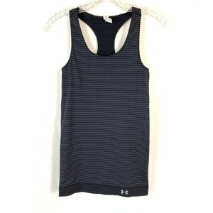 Under Armour Striped Racerback Fitted Tank